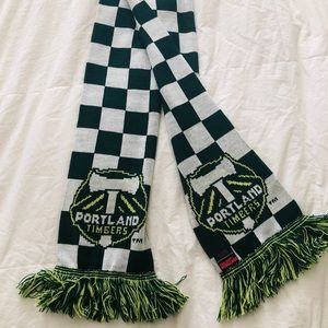 ⚽️ GO TIMBERS ⚽️ Team Scarf